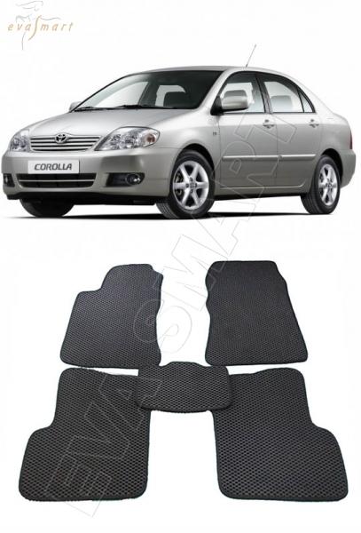 Toyota Corolla IX (E120, E130) 2001-2007 Автоковрики 'EVA Smart'
