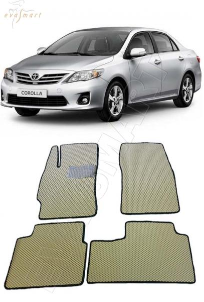 Toyota Corolla X (E140, E150) 2006 - 2013 Автоковрики 'EVA Smart'