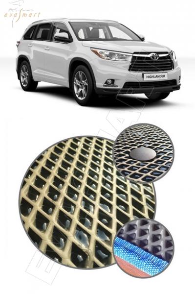 Toyota Highlander III (U50) 2013 -  Автоковрики 'EVA Smart'