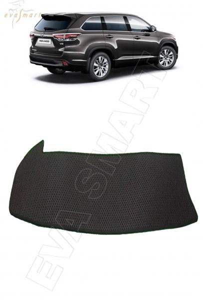 Toyota Highlander III (U50) коврик в багажник 7 мест мини 2013 - н.в. EVA Smart
