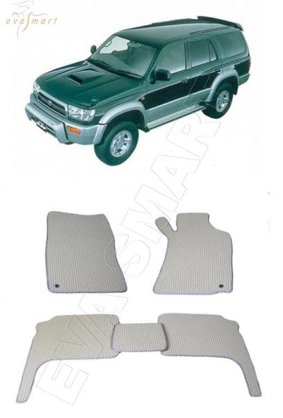 Toyota Hilux Surf III правый руль 1997 - 2002 Автоковрики 'EVA Smart'