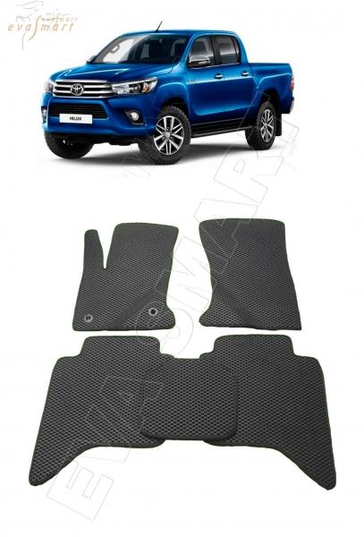 Toyota Hilux VIII 2015 - н. в. Автоковрики 'EVA Smart'