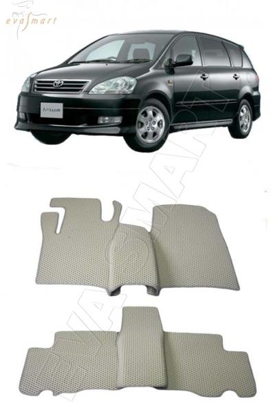 Toyota Ipsum II минивэн правый руль 2001 - 2003 Автоковрики 'EVA Smart'