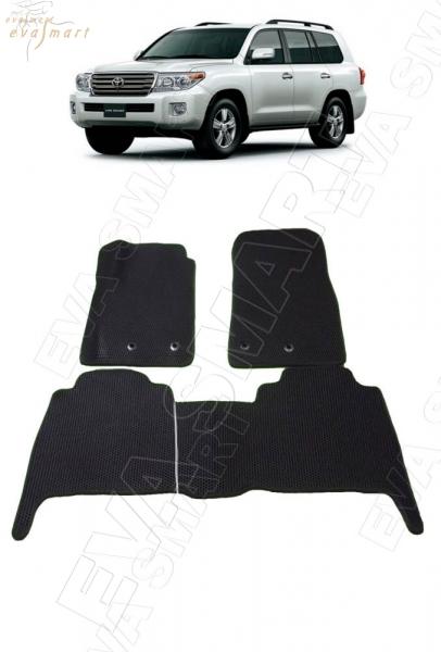 Toyota Land Cruiser 200 2012 - н.в. коврики EVA Smart