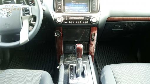 Toyota Land Cruiser Prado 150 (рестайл), 2013 - н. в. Автоковрики 'EVA Smart'