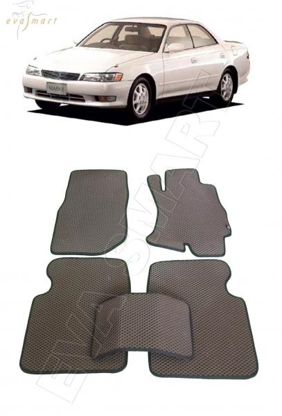 Toyota Mark II (X90) правый руль 1992 -1996 Автоковрики 'EVA Smart'