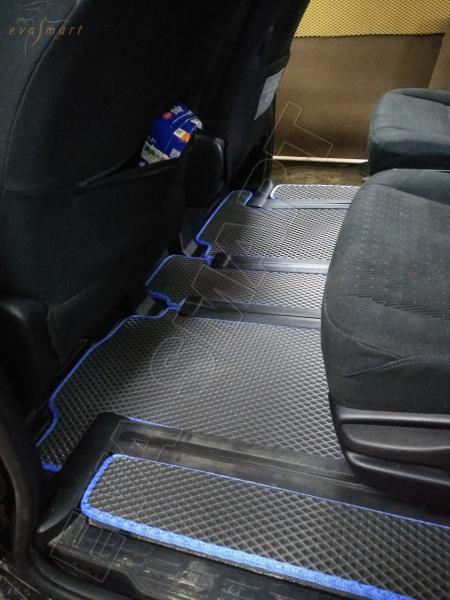 Toyota Noah III (R80) правый руль минивэн 6 мест 2014 - н.в. коврики EVA Smart