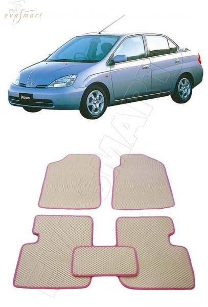 Toyota Prius (XV10) правый руль 2000 - 2003 Автоковрики 'EVA Smart'
