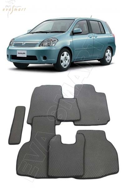 Toyota Raum II правый руль 2003 - 2011 Автоковрики 'EVA Smart'