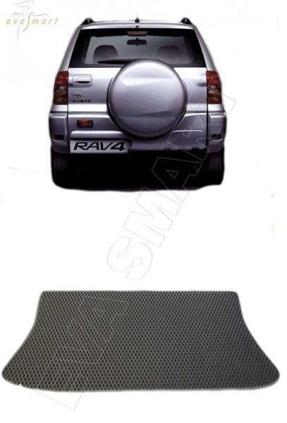 Toyota RAV 4 II (CA20) 3d 2000 - 2005 Коврик багажника EVA Smart