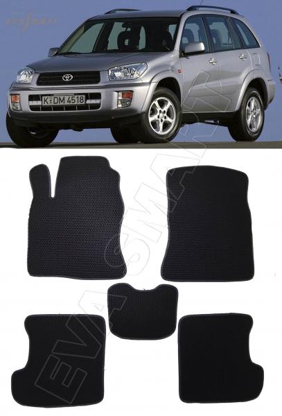Toyota RAV4 II (CA20) 5дв 2000 - 2005 коврики EVA Smart