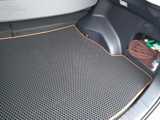 Toyota RAV4 V багажник (XA50) 2018 - н.в. коврики EVA Smart