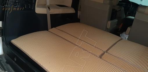 Toyota Sequoia II 7 мест 2008 - н.в. коврик в багажник макси EVA Smart