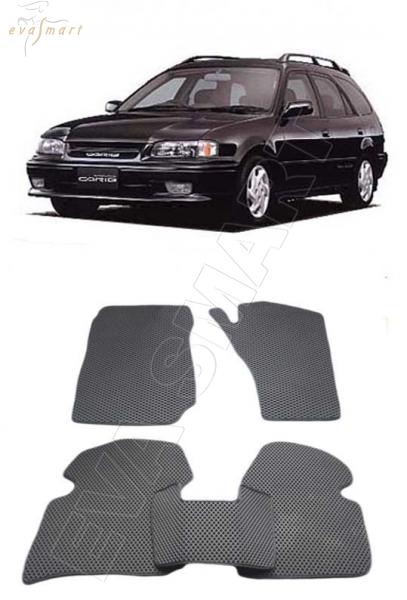 Toyota Sprinter Carib II правый руль 1988 - 1995 Автоковрики 'EVA Smart'