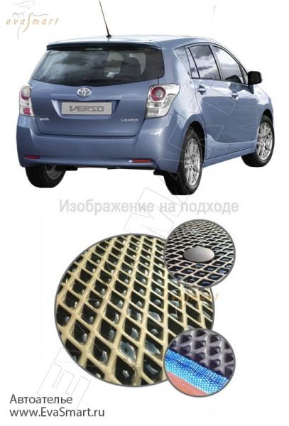 Toyota Verso I багажник 2009 - 2012 Автоковрики 'EVA Smart'