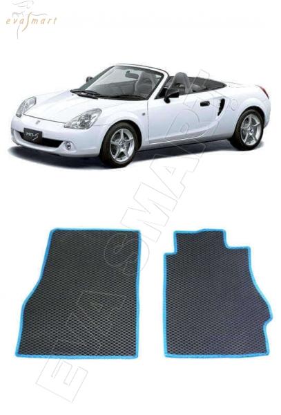 Toyoya MR-S (W30) ПРАВЫЙ(!) руль -  Автоковрики 'EVA Smart'