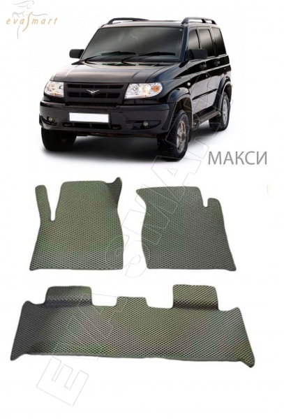 UAZ Patriot (люкс) 2005 - 2013 Автоковрики 'EVA Smart'