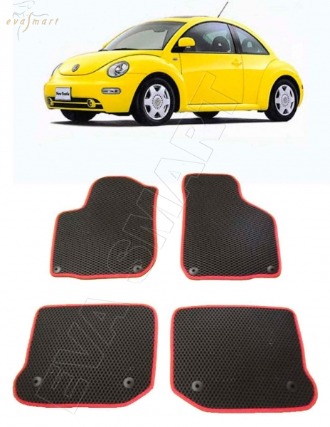 Volkswagen Beetle A4 1998 - 2005 Автоковрики 'EVA Smart'