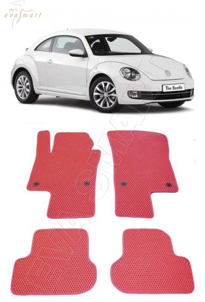 Volkswagen Beetle A5 хэтчбек 3дв 2013 - 2016 коврики EVA Smart