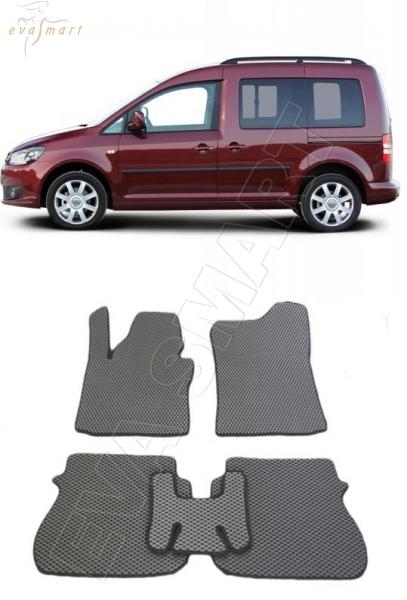 VolkswagenCaddy III минивэн 2004-2015 Автоковрики 'EVA Smart'