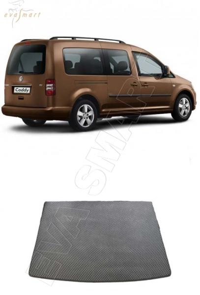 VolkswagenCaddy III минивэн багажник 2010-2015 Автоковрики 'EVA Smart'