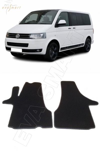 Volkswagen T5 Caravella 2003 - 2015 коврики EVA Smart