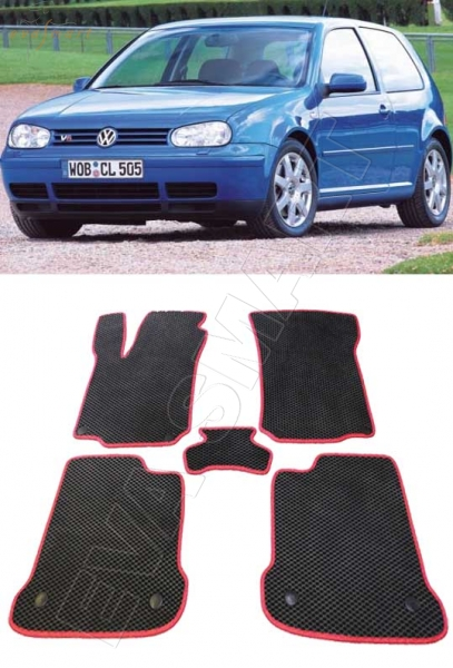 Volkswagen Golf IV 1997 - 2003 хэтчбэк коврики EVA Smart