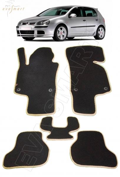 VolkswagenGolf V 2003 - 2009 Автоковрики 'EVA Smart'
