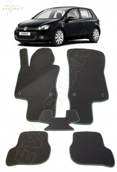 VolkswagenGolf VI 2009 - 2012 Автоковрики 'EVA Smart'