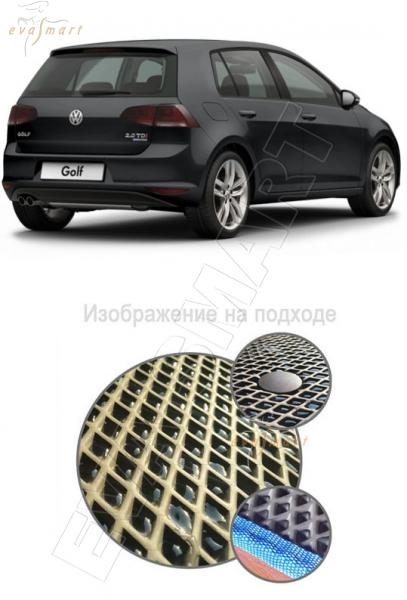 VolkswagenGolf VII багажник 2013 - 2015 Автоковрики 'EVA Smart'