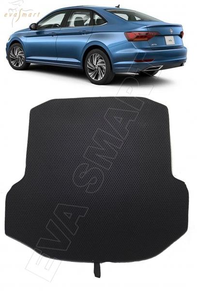 Volkswagen Jetta VII 2018 -  коврик в багажник EVA Smart