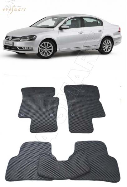 Volkswagen Passat B7 2011 - 2015 коврики EVA Smart