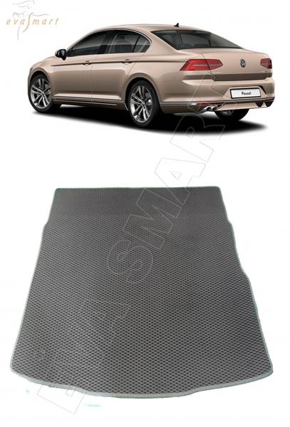 VolkswagenPassatB8 багажник седан 2016 - н. в. Автоковрики 'EVA Smart'