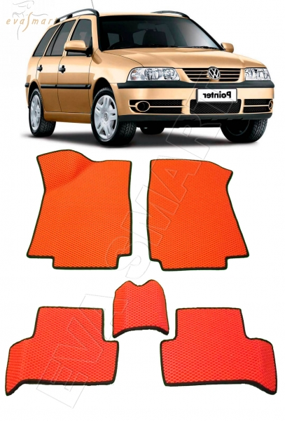 Volkswagen Pointer 5дв 2004 - 2006 коврики EVA Smart