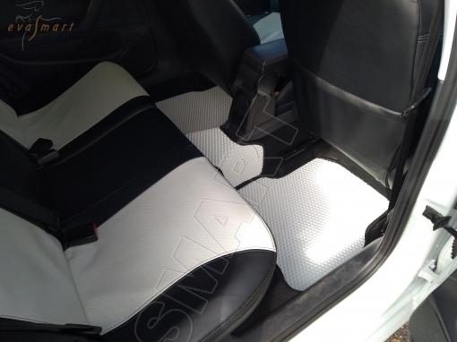 Volkswagen Polo V хэтчбек 2010 - н.в. коврики EVA Smart