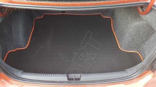 Volkswagen Polo V седан 2009 - 2020 коврики EVA Smart