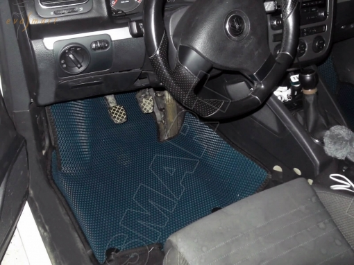 Volkswagen Scirocco вариант макси 3d 2009 - 2015 Автоковрики 'EVA Smart'