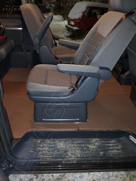 Volkswagen T5 Multivan 2003 - 2015 коврики EVA Smart