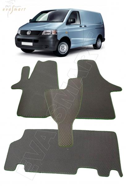 Volkswagen T5 Transporter 2003 - 2015 Автоковрики 'EVA Smart'