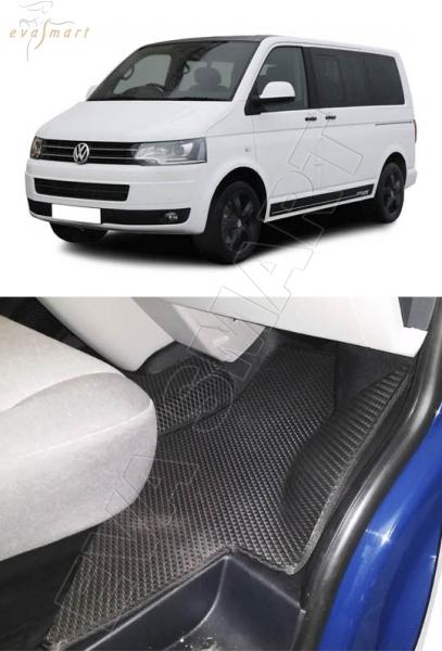 Volkswagen T6 Caravella 2015 - н. в. Автоковрики 'EVA Smart'