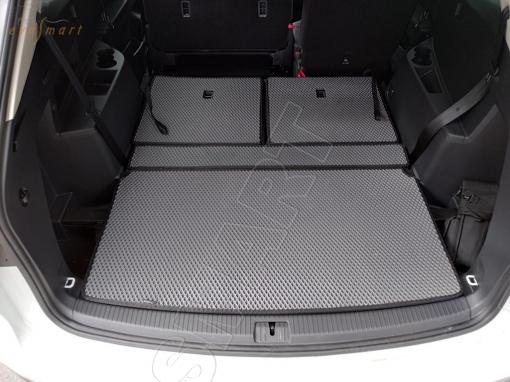 Volkswagen Teramont I 7мест коврик в багажник макси 2017 - н.в. EVA Smart