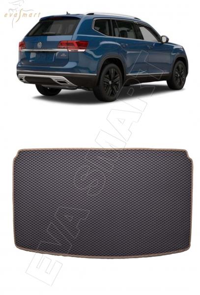 Volkswagen Teramont I 7мест 2017 - н.в. коврик в багажник EVA Smart