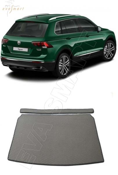VolkswagenTiguan II багажник 2016 -  Автоковрики 'EVA Smart'