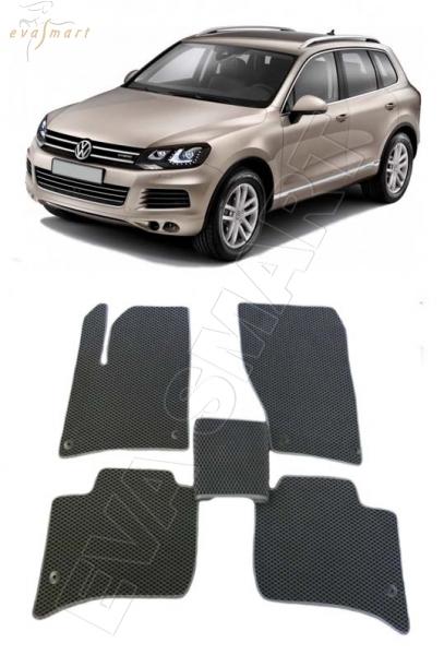 Volkswagen Touareg II 2010 - н.в. Автоковрики 'EVA Smart'