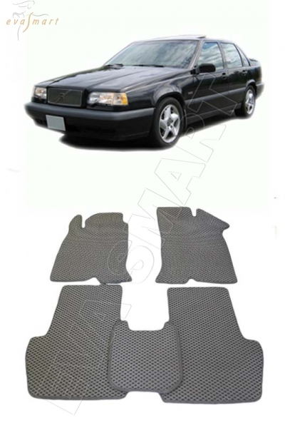 Volvo 850 1991 - 1997 Автоковрики 'EVA Smart'