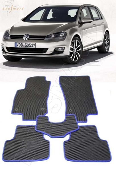 VolkswagenGolf VII 2013 - н. в. Автоковрики 'EVA Smart'