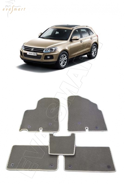 Zotye T600 2013 - н.в. коврики EVA Smart